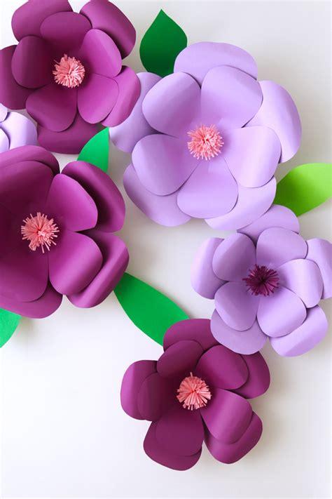 imagenes de flores grandes de papel flores de papel xl la vida en craft