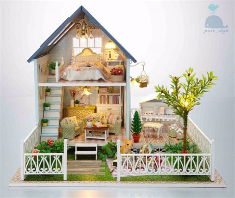 Handcraft House - diy handcraft miniature project kit wooden dolls house my