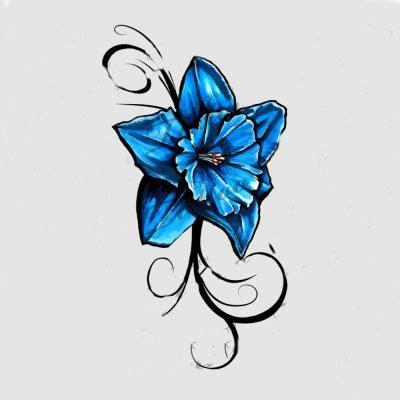 tattoo daffodil designs blue daffodil ideas daffodils