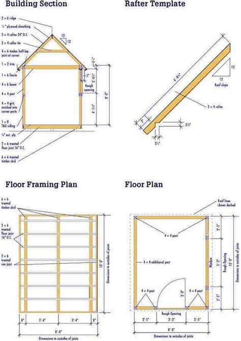 wood floor framing plan pdf diy blueprints wooden download kitchen base cabinet