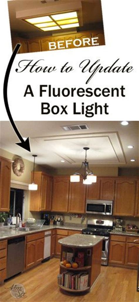 ideas for replacing fluorescent lighting boxes the 25 best fluorescent kitchen lights ideas on