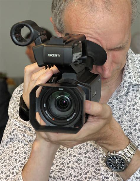 Kamera Sony Pxw X70 pxw x70 large sensor handheld f 252 r profis mit 4k option