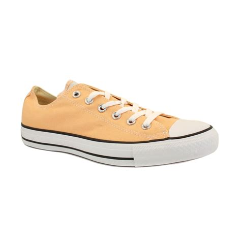 Converse All Peached Ox converse chuck all ox 136819c womens laced canvas trainers ebay