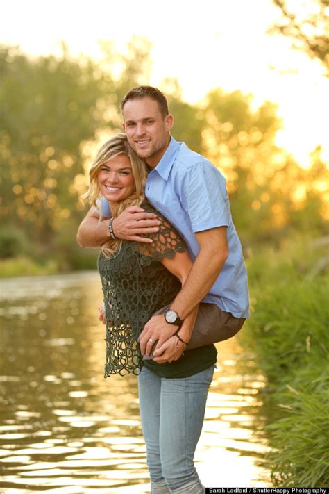 themes of the wife s story heartwarming photo of kelly cottle carrying her husband
