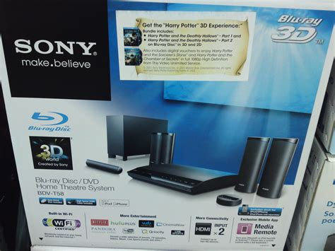 costco price cut sony 3d 5 1 home theater system