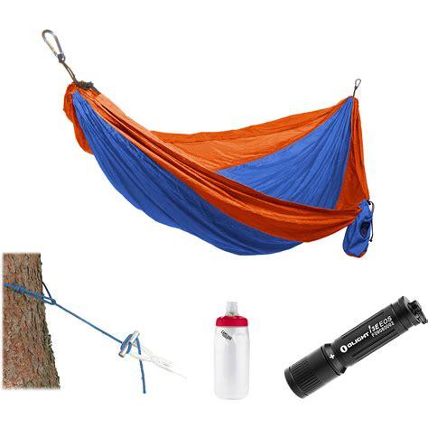 Hammock Kit Grand Trunk Parachute Hammock Essentials Kit Orange