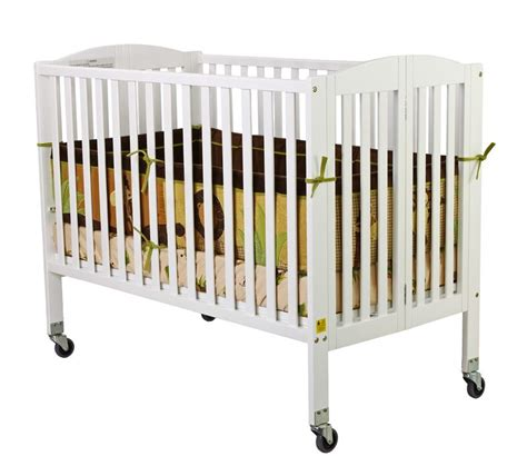 Foldable Baby Cribs by On Me On Me Folding Size Convenience Crib
