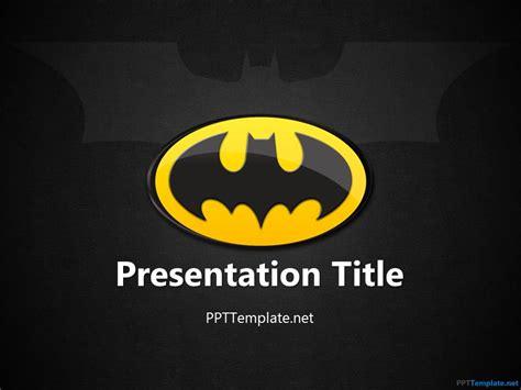 Free Batman Ppt Template Logo Presentation Template