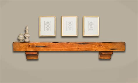breckenridge wood mantel shelves fireplace mantel