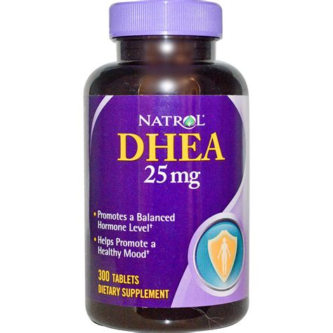 Vitamin Nutrisi Dhea 25mg 100 Capsul nlt health news