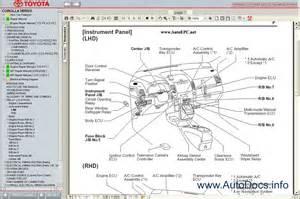 2004 Toyota Owners Manual Pdf Toyota Corolla Verso 2004 2009 Service Manual Repair