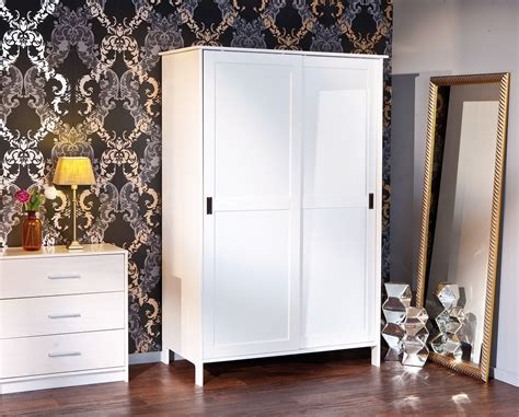 armoire blanche 2 portes armoire mafra blanche 2 portes coulissantes