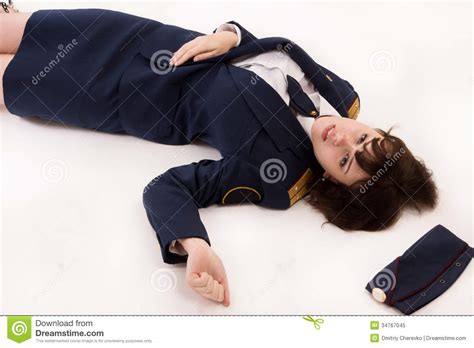 Lying To A Officer by Officer Lying On A Floor Royalty Free Stock Photo