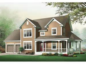 two story house plans with wrap around porch derosa two story farmhouse plan 032d 0502 house plans and more