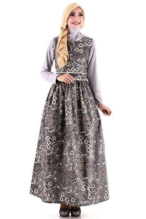 Gaun Batik ッ 20 model gaun batik muslim kombinasi modern dan elegan