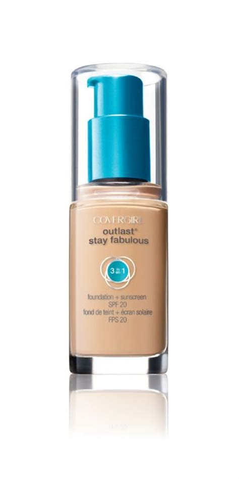 Covergirl Outlast Foundation cover outlast stay fabulous 3 in 1 foundation reviews