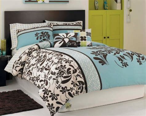jalousie 90x120 blue and brown duvet cover anya 6 floral print duvet