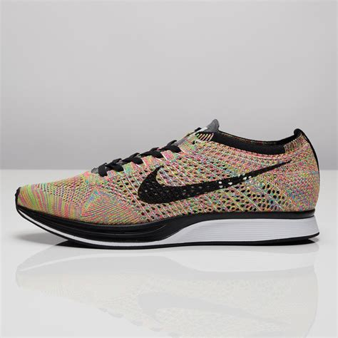 fly knit racer nike flyknit racer mujer hombre gris oscuro negras bl