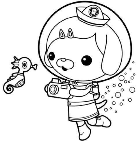 Dashi Dog Coloring Page | octonauts dashi coloring pages murderthestout