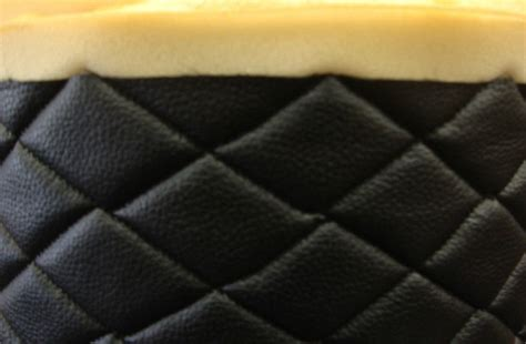 Upholstery Backing Material by Vinyl 10 Yards Black Quilted Fabric With 3 8 Quot Foam Backing