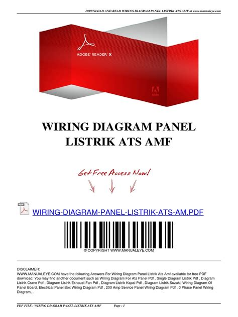 ats panel for generator wiring diagram pdf portable