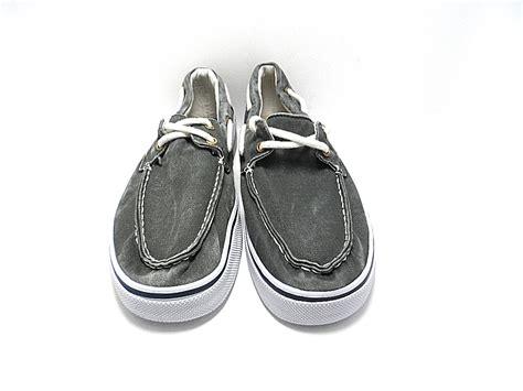 st john s bay boat shoes st john s bay men s inlet boat shoe gray size 11 nwob ebay