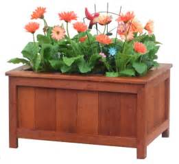 flower planter box plans free woodproject