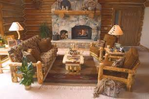 rustic log living room furniture log glider aspen log