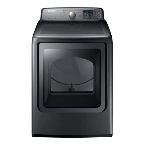 samsung 7 4 cu ft electric dryer in platinum dv45h7000ep the home depot