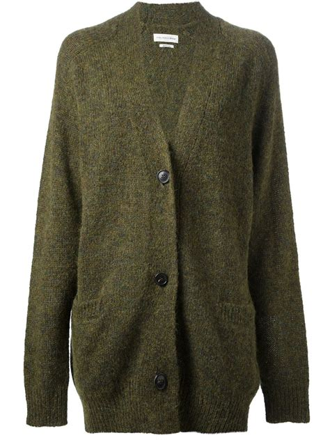 Julian Ruff Green Cardigan 201 toile marant rider cardigan in green lyst
