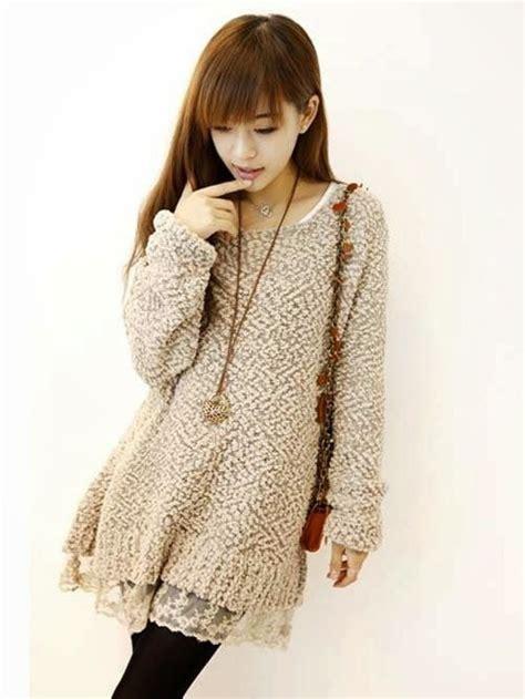 Dress Lone Koreanstyle winter korean clothing for 2014 korea