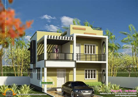 1872 square 4 bedroom house kerala home design
