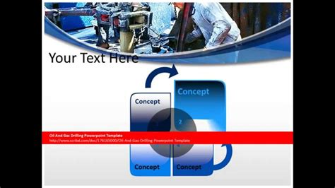 powerpoint themes oil and gas oil and gas drilling powerpoint template youtube