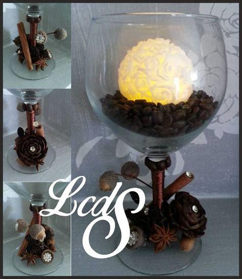 centrotavola con bicchieri centrotavola bicchiere con candela in cera a led per la