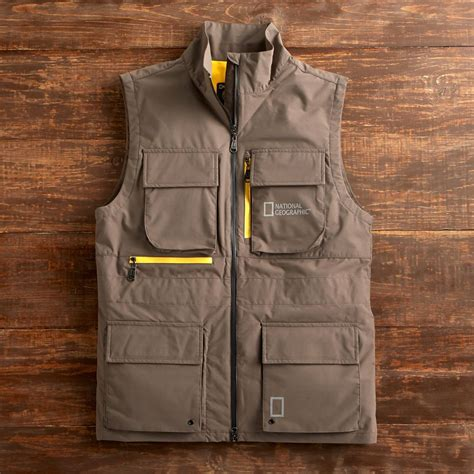 Seven Shirt Natgeo national geographic s four pocket zipper vest