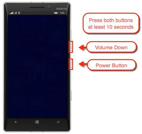 nokia lumia 635: soft reset or reboot solverbase.com