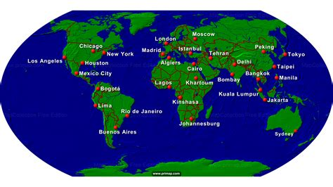 show earth map primap world maps