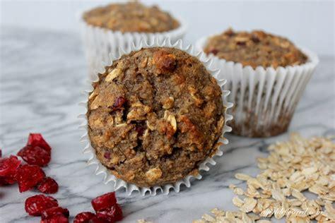 a whole grain oatmeal gluten free whole grain oatmeal cranberry muffins alison