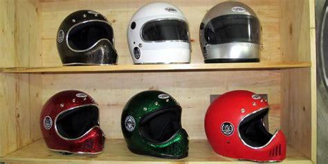 Wto Helmet Retro Bogo Skull pin dijual helm retro vespa murah buktikan toko