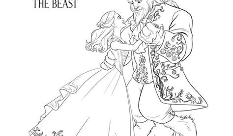beauty and the beast dancing coloring pages get this free printable beauty and the beast 2017 coloring