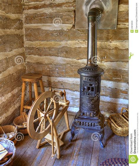 Rustic Cabin Plans Floor Plans rustic old time log cabin spinning room stock photos