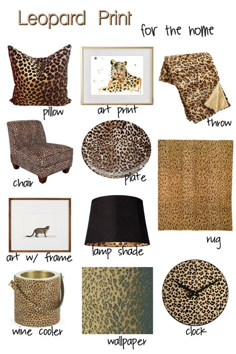 leopard print home decor decorating with leopard print decor whitney j decor
