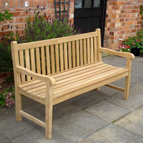 chunky teak bench rondeau leisure chunky teak 180cm bench on sale fast
