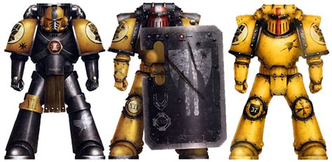 The New Heresy by Yellow Is The New Black Imperial Fists In 30k