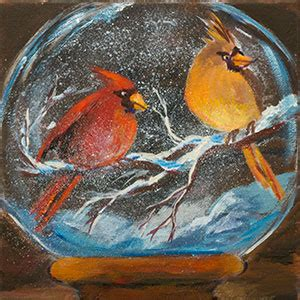 how to get rid of acrylic paint on canvas how to get rid of artist block by painting a snow globe