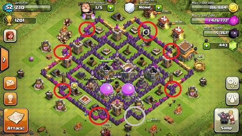best wall pattern clash of clans best clash of clans strategy 2017