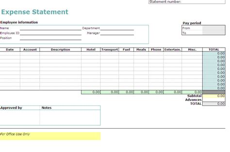 expense form template excel travel expense reporting excel worksheet