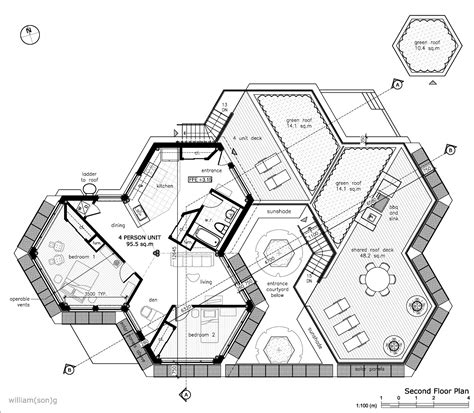 Hexagon House Floor Plans | hexagon house floor plan google search for the man