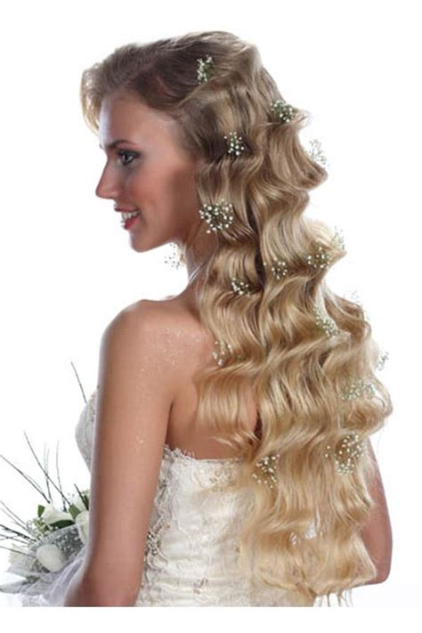 hairstyles for long hair down curly bridal hairstyles with long hair for wedding