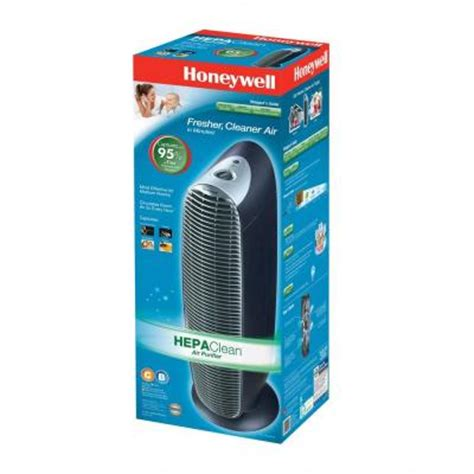 honeywell hht 081 hepaclean tower air purifier with hepa filter great brands outlet